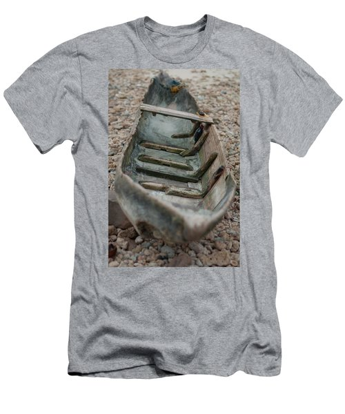 Wooden Boat1 Men's T-Shirt (Athletic Fit)