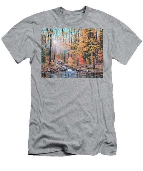Woodland Trail Men's T-Shirt (Athletic Fit)