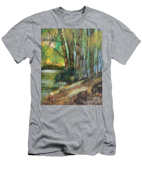 Woods In The Afternoon Men's T-Shirt (Athletic Fit)