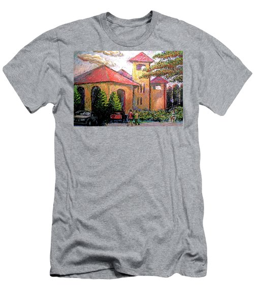 Worlds Fair Pavilion In Forest Park Men's T-Shirt (Athletic Fit)