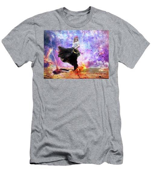 Worship Warrior Men's T-Shirt (Slim Fit) by Dolores Develde