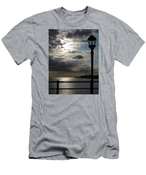 Worthing Seafront From The Pier Men's T-Shirt (Slim Fit) by John Topman