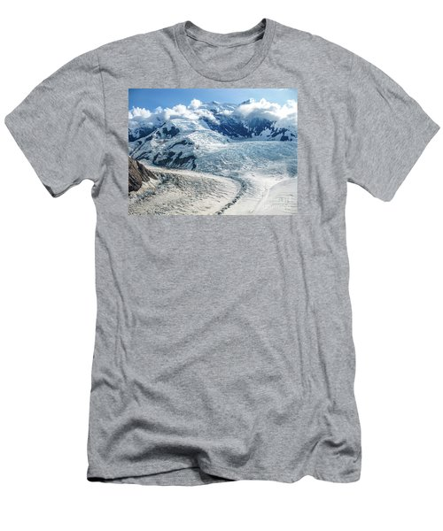 Wrangell Alaska Glacier Men's T-Shirt (Athletic Fit)