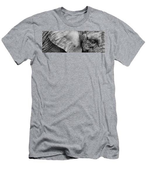 Wrinkles Men's T-Shirt (Athletic Fit)
