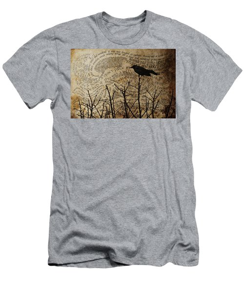Men's T-Shirt (Slim Fit) featuring the photograph Written On The Wind by Jan Amiss Photography