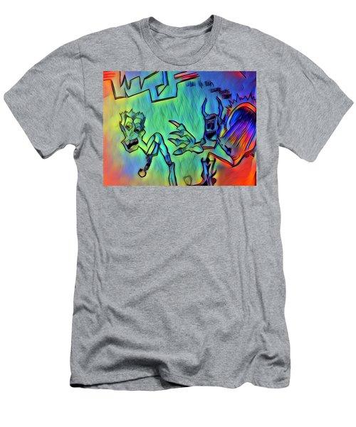 Wtf Eugene Bucks Men's T-Shirt (Athletic Fit)