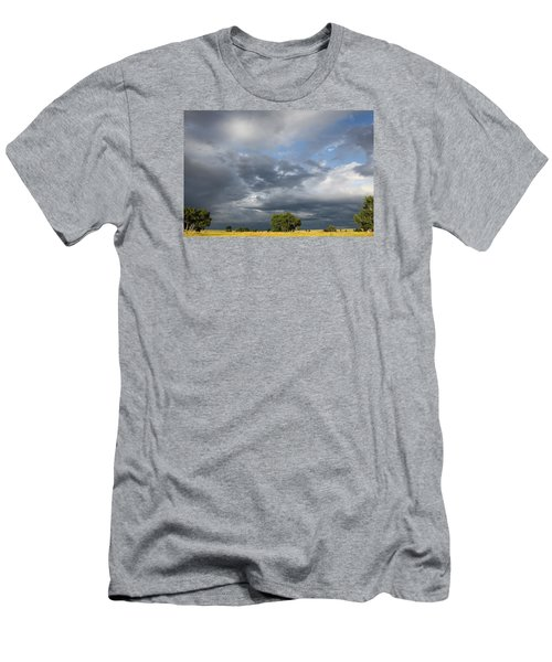 Wyoming Sky Men's T-Shirt (Athletic Fit)