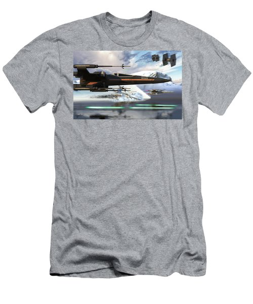 X-wing Full Throttle V2 Men's T-Shirt (Athletic Fit)