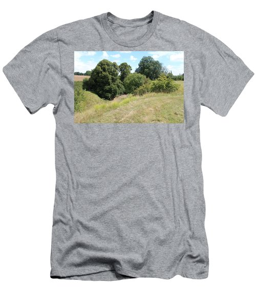 Men's T-Shirt (Athletic Fit) featuring the photograph Y Ravine by JLowPhotos