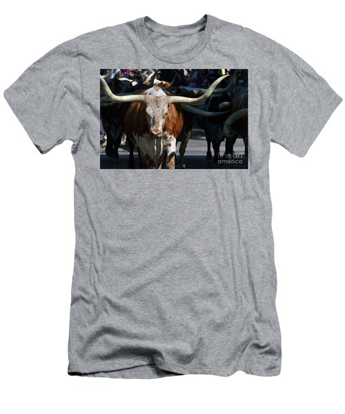 Men's T-Shirt (Slim Fit) featuring the photograph Ya'all Be Careful Now..... by Debby Pueschel