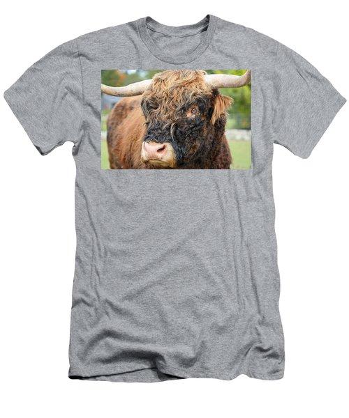 Yakity Yak Men's T-Shirt (Slim Fit) by Karol Livote