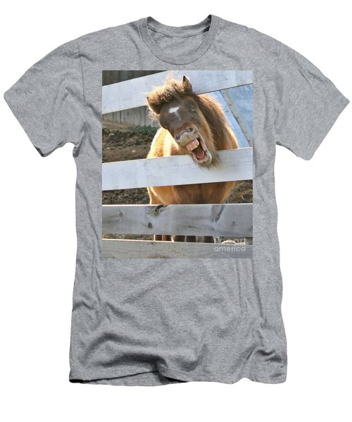 Men's T-Shirt (Slim Fit) featuring the photograph Yee Haw by Heather King