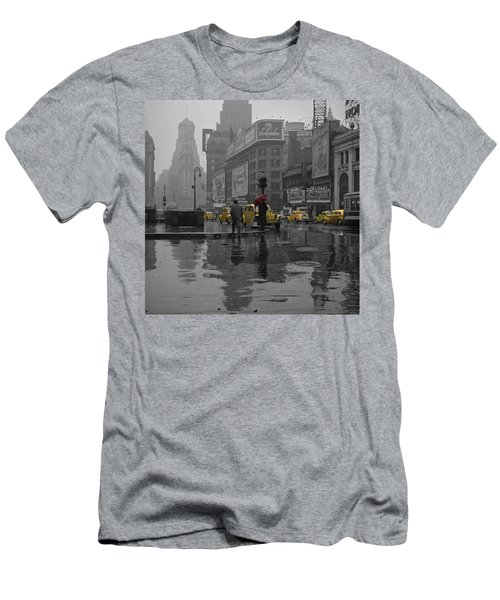 Yellow Cabs New York Men's T-Shirt (Athletic Fit)