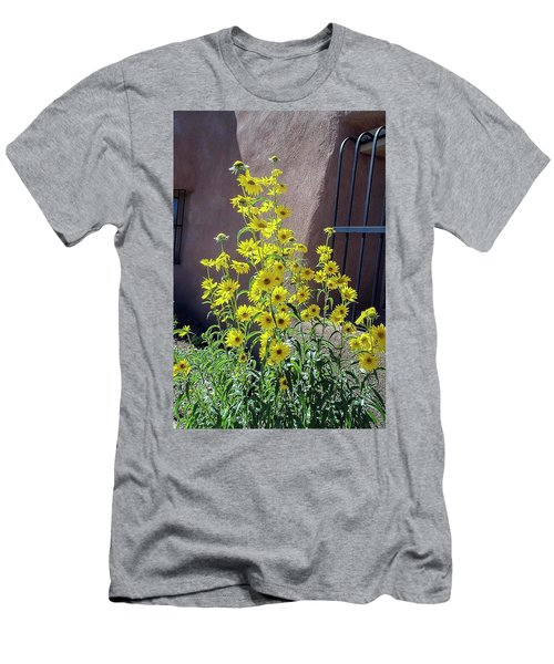 Yellow Composites At Ghost Ranch  Men's T-Shirt (Athletic Fit)