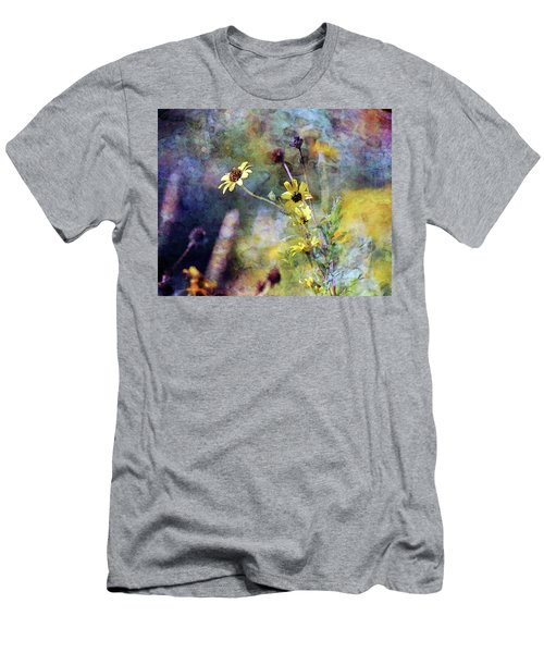 Yellow Wildflowers 3230 Idp_2 Men's T-Shirt (Athletic Fit)
