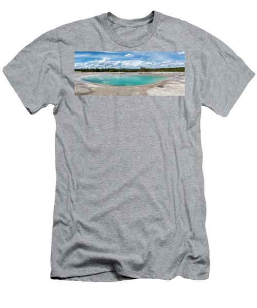 Men's T-Shirt (Athletic Fit) featuring the photograph Yellowstone Colors #11 by Scott Read