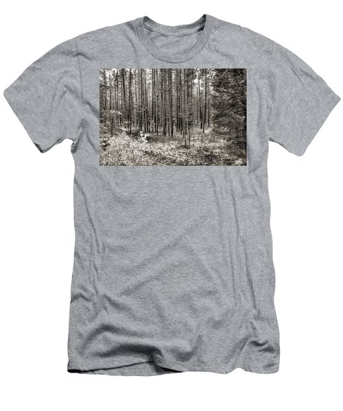 Yellowstone Fire Burn Scar Men's T-Shirt (Athletic Fit)