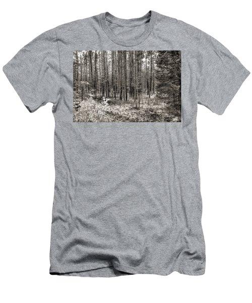 Yellowstone Fire Burn Scar Men's T-Shirt (Athletic Fit)