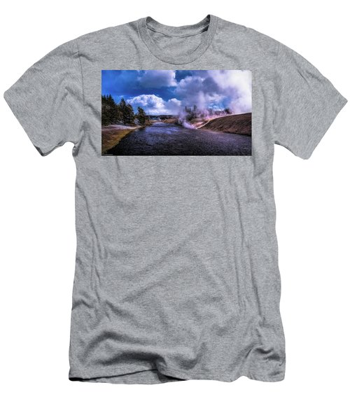 Yellowstone River Men's T-Shirt (Athletic Fit)