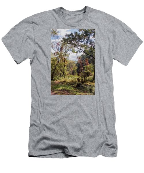 Men's T-Shirt (Slim Fit) featuring the photograph Yesterdays by John Rivera