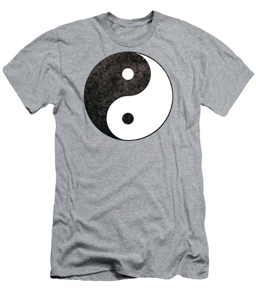 Yin Yang Symbol Men's T-Shirt (Athletic Fit)