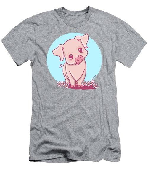 Yittle Piggy Men's T-Shirt (Athletic Fit)