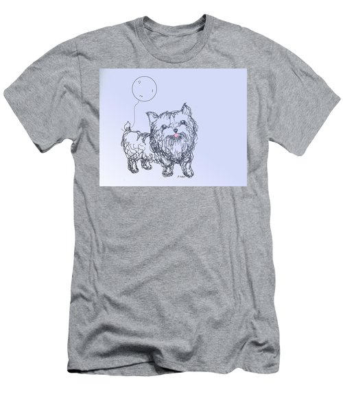 Yorkie Men's T-Shirt (Athletic Fit)