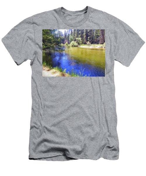 Yosemite River Men's T-Shirt (Athletic Fit)