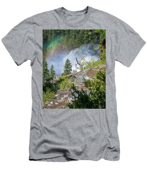 Stroll Passed Nevada Men's T-Shirt (Slim Fit) by Ryan Weddle