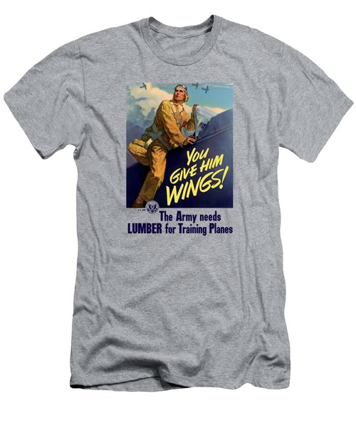 You Give Him Wings - Ww2 Men's T-Shirt (Athletic Fit)