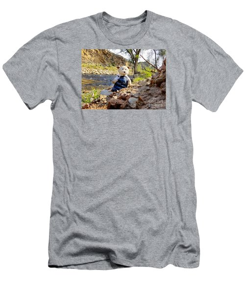 You Were Expecting Bigfoot Men's T-Shirt (Athletic Fit)
