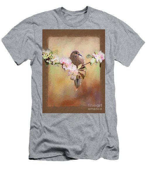 Young Morning Dove Men's T-Shirt (Slim Fit) by Suzanne Handel