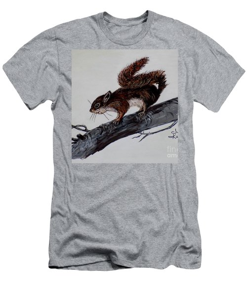 Young Squirrel Men's T-Shirt (Athletic Fit)
