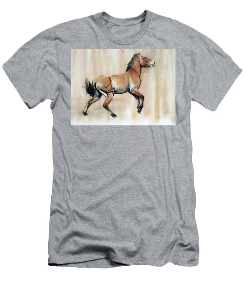 Young Stallion Men's T-Shirt (Athletic Fit)