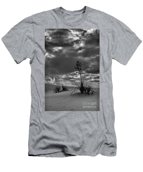 Yucca At Sunset Men's T-Shirt (Athletic Fit)