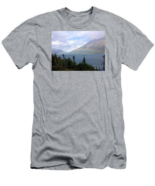 Yukon Rainbow Men's T-Shirt (Athletic Fit)