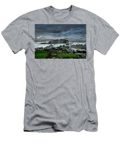Zamas Beach #14 Men's T-Shirt (Athletic Fit)