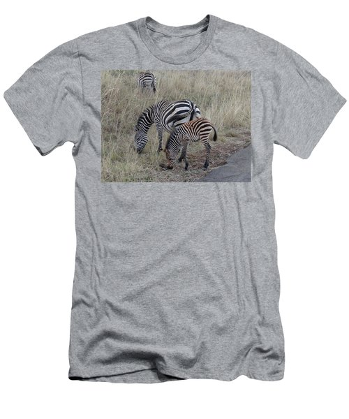 Zebras In Kenya 1 Men's T-Shirt (Athletic Fit)