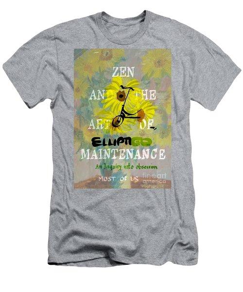 Zen And The Art Of Elliptigo Maintainence, A Parody Men's T-Shirt (Athletic Fit)