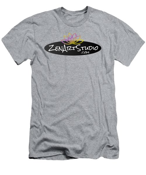 Zen Art Studio Logo Men's T-Shirt (Slim Fit)