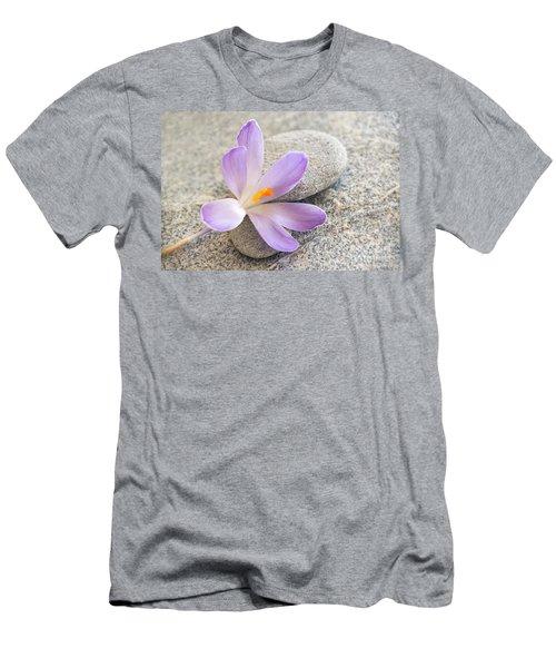 Zen Crocus Men's T-Shirt (Athletic Fit)