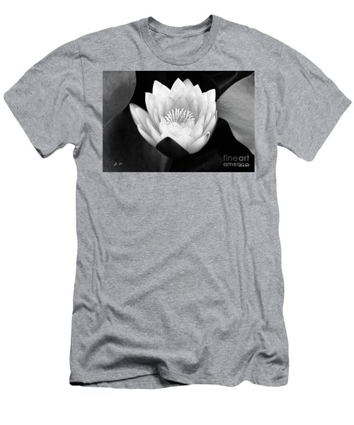 Waterlily Rising Men's T-Shirt (Athletic Fit)