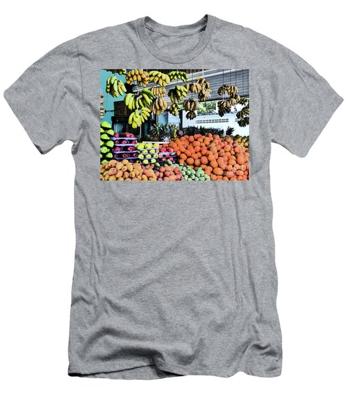 Zihuatanejo Market Men's T-Shirt (Athletic Fit)