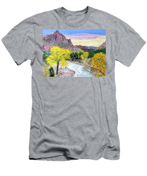 Zion Creek Men's T-Shirt (Athletic Fit)