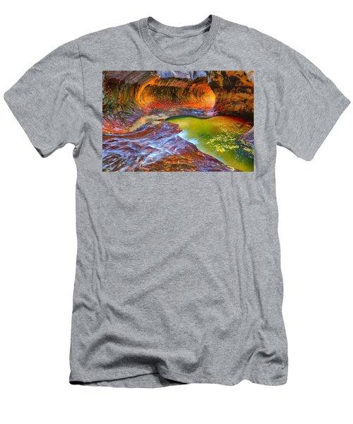 Zion Subway Men's T-Shirt (Athletic Fit)