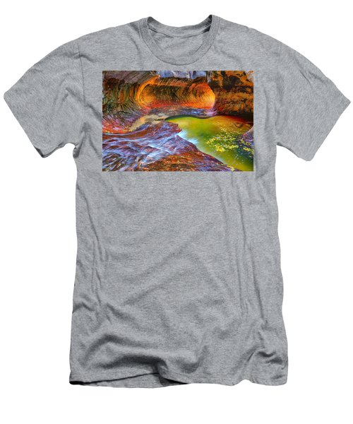Zion Subway Men's T-Shirt (Athletic Fit)
