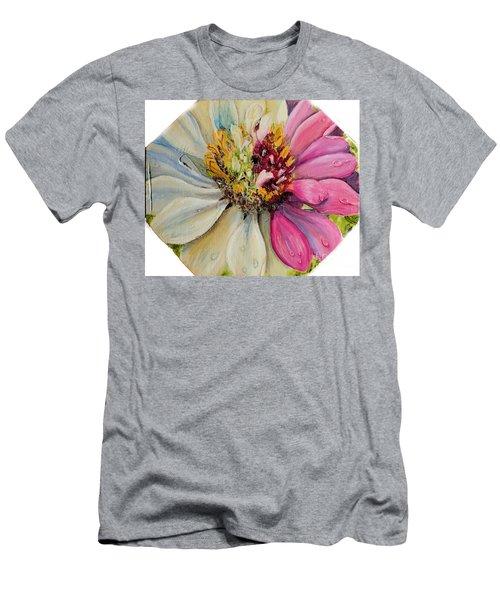 Zippy Zinnia Men's T-Shirt (Athletic Fit)