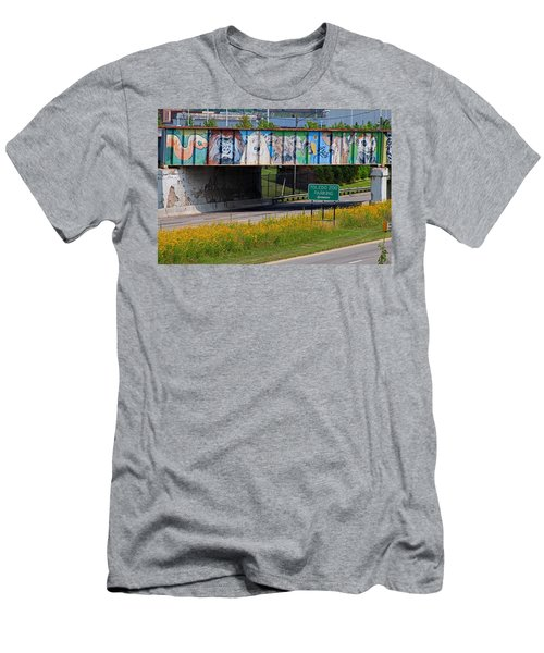 Zoo Mural Men's T-Shirt (Athletic Fit)