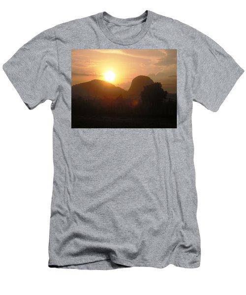 Zuma Rock, Abuja Nigeria Men's T-Shirt (Athletic Fit)
