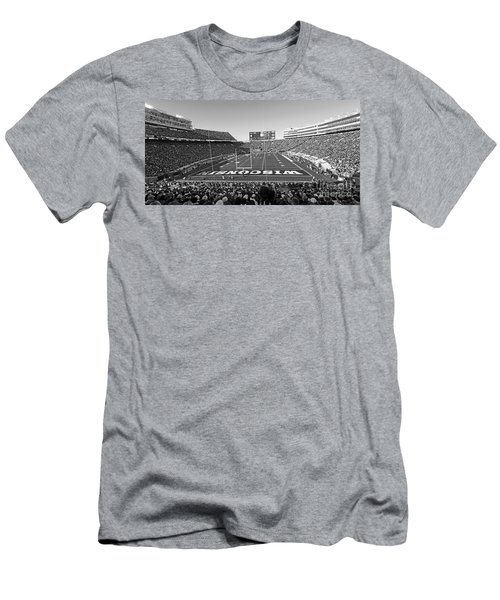 0095 Bw Camp Randall Stadium Men's T-Shirt (Athletic Fit)